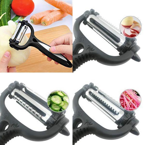 3-In-1 Rotary Kitchen Peeler - Dechappy