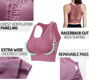 Breathable Instant Lift Sports Bra - Dechappy