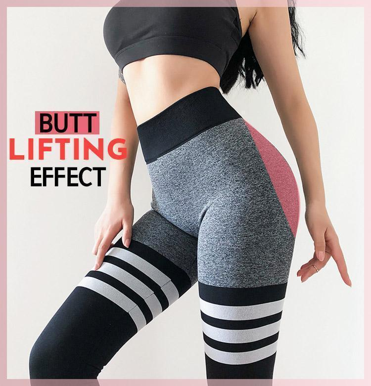 Stretchy Sculpting Lift-Up Leggings - Dechappy