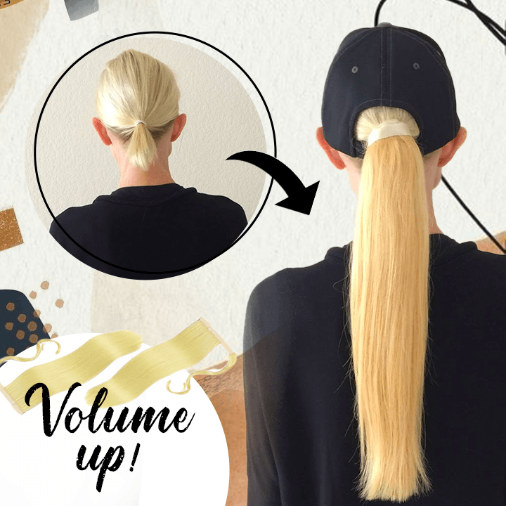 Seamless Clip-On Ponytail