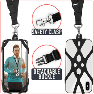FlexGrip Phone Security Neck Strap - Dechappy