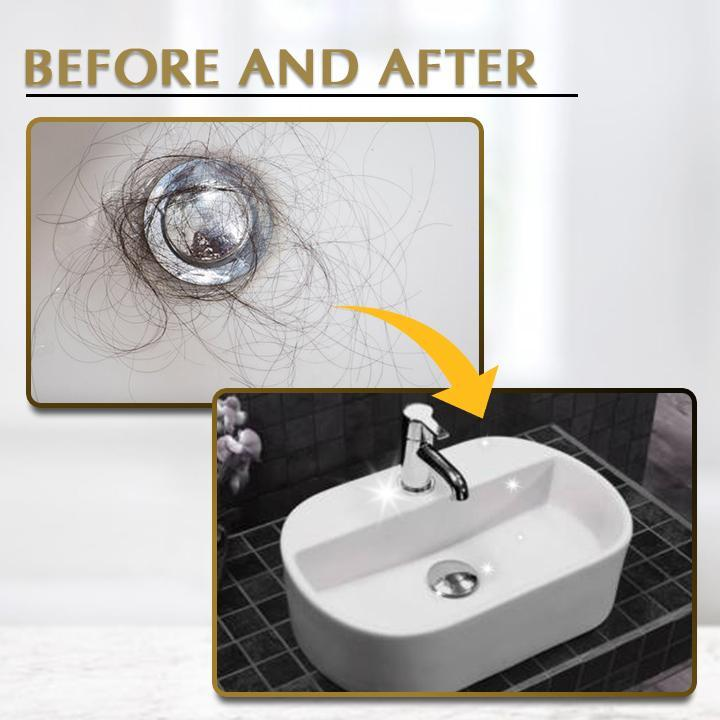 Anti-Clog Pop-up Drain Filter