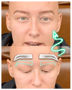 4D Micro-blading Instant Eyebrows