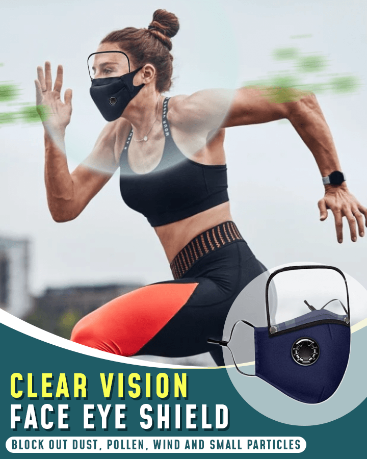 Clear Vision Face Eye Shield