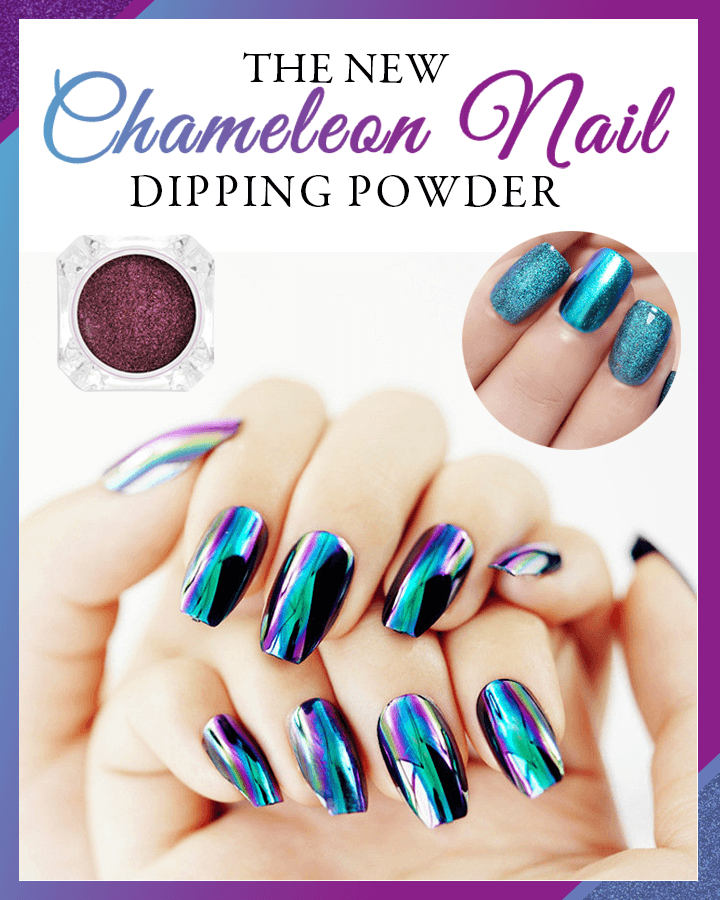 No-Cure Chameleon Nail Dipping Powder - Dechappy