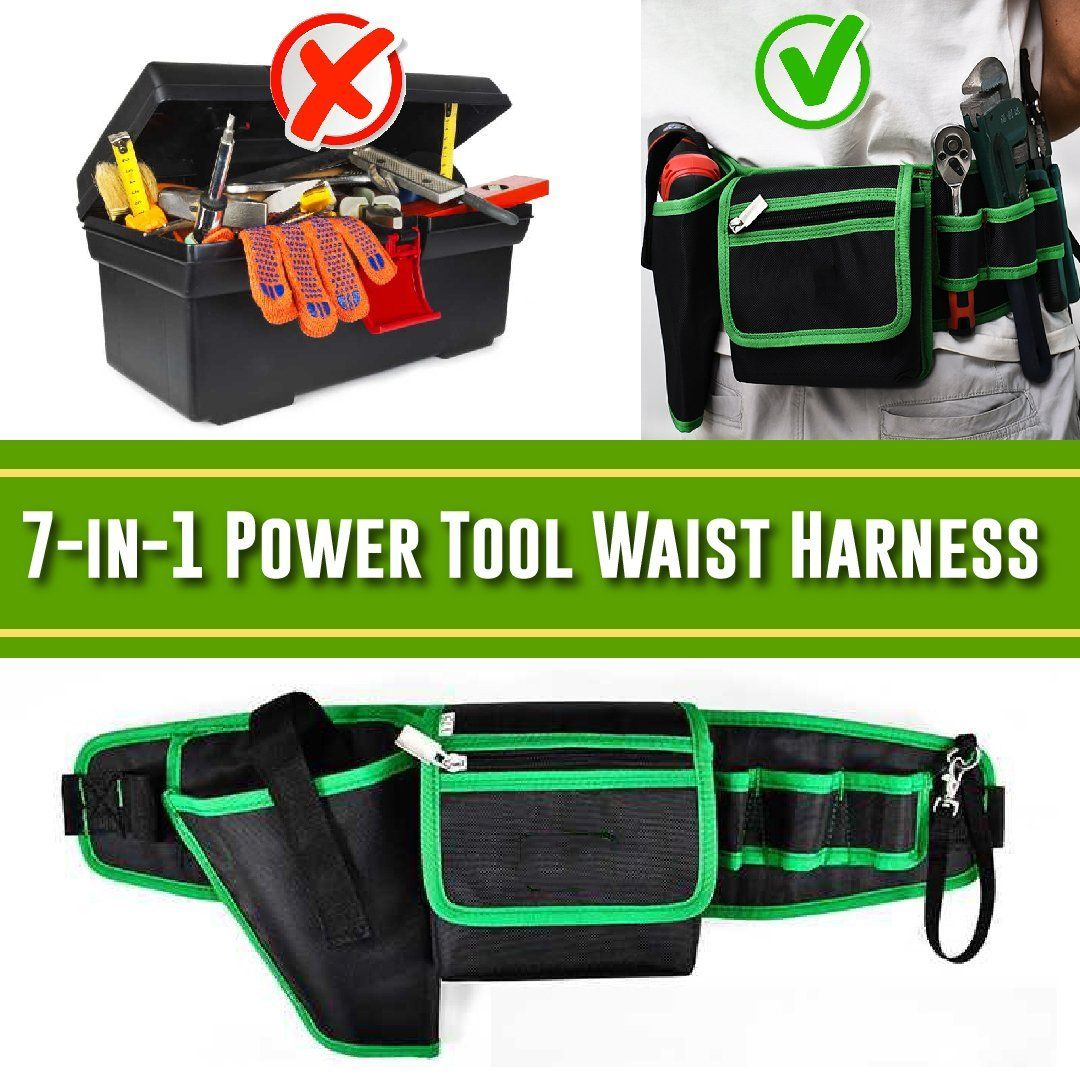 7 in 1 Electric Tool Waist Harness
