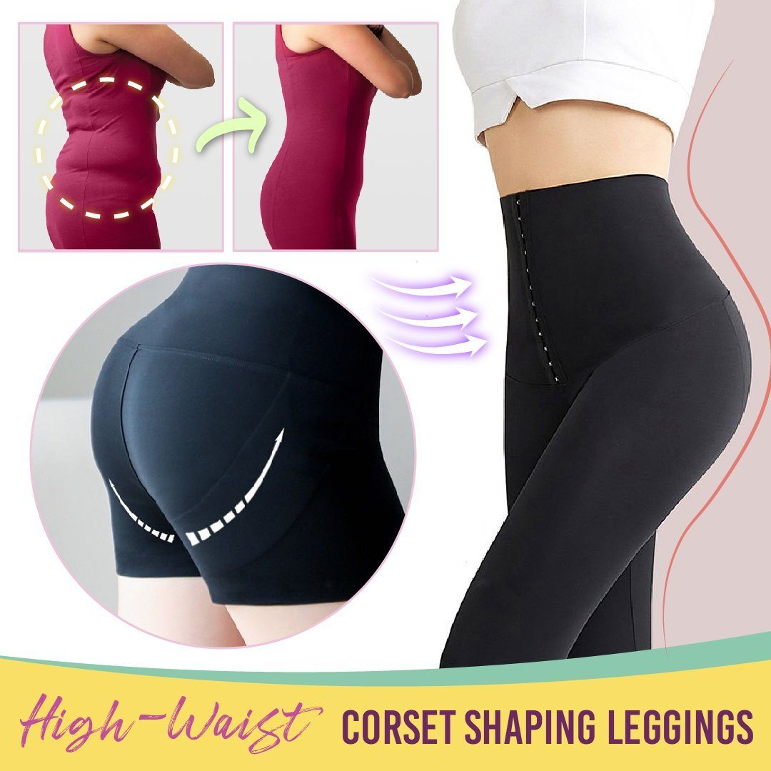 High-Waist Corset Shaping Leggings