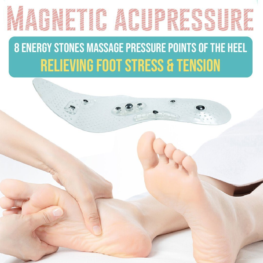 Magnetic Therapy Acupressure Insoles