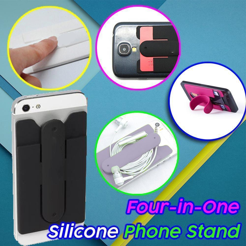 Four-in-One Silicone Phone Stand - Dechappy