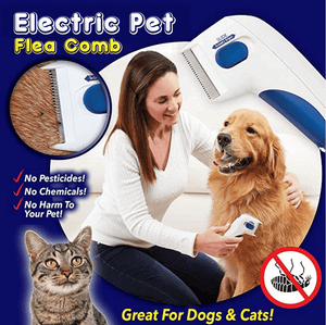 Electric Pet Flea Comb - Dechappy