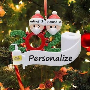 2020 Dated D.I.Y. Christmas Ornament