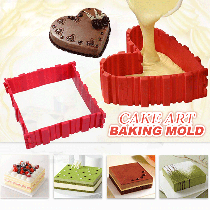 Cake Art Baking Mold (4pcs) Haylicola