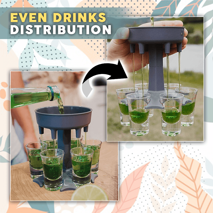 6 Shots Dispenser Holder