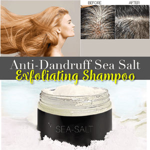 Anti-Dandruff Sea Salt Exfoliating Shampoo - Dechappy