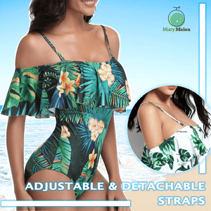 Off-shoulder Swimwear - Dechappy