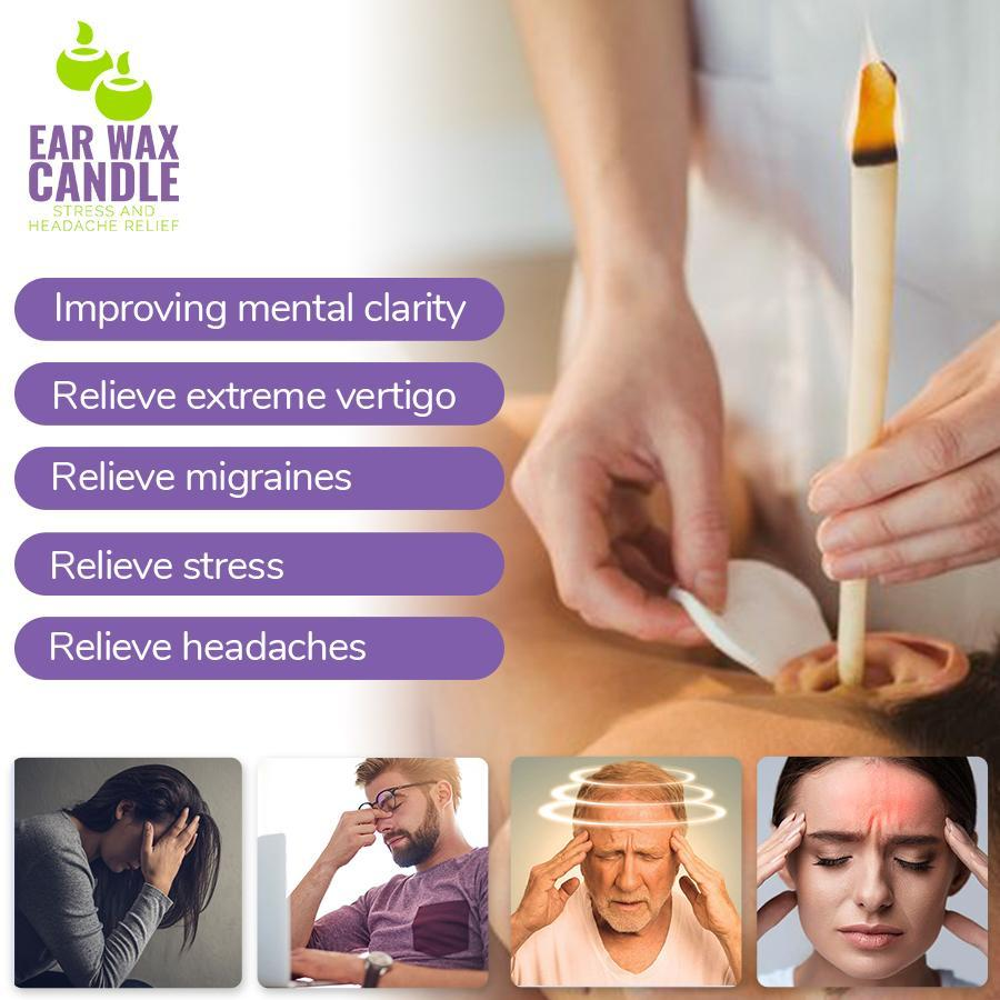 Ear Wax Candle - Stress and Headache Relief