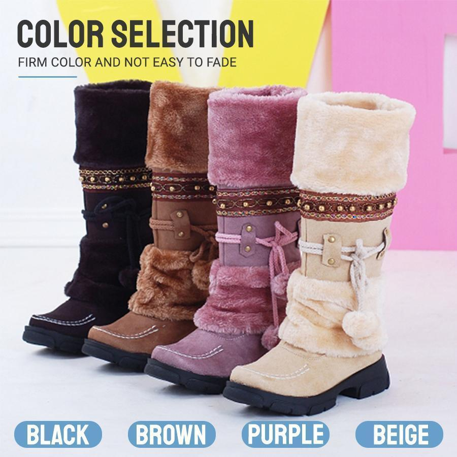 Wool Snow Boots - Dechappy