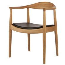 Load image into Gallery viewer, Round chair Hans Wegner/ natural - MANU Wooden Collection