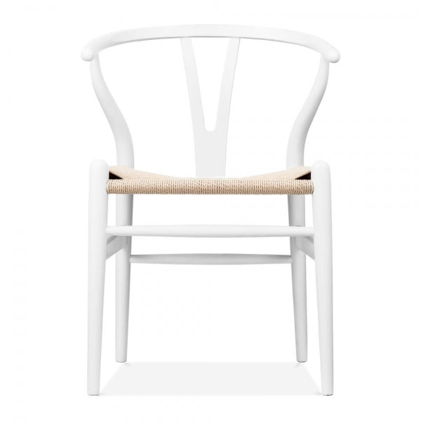 Hans Wegner, Wishbone chair/ White - MANU Wooden Collection
