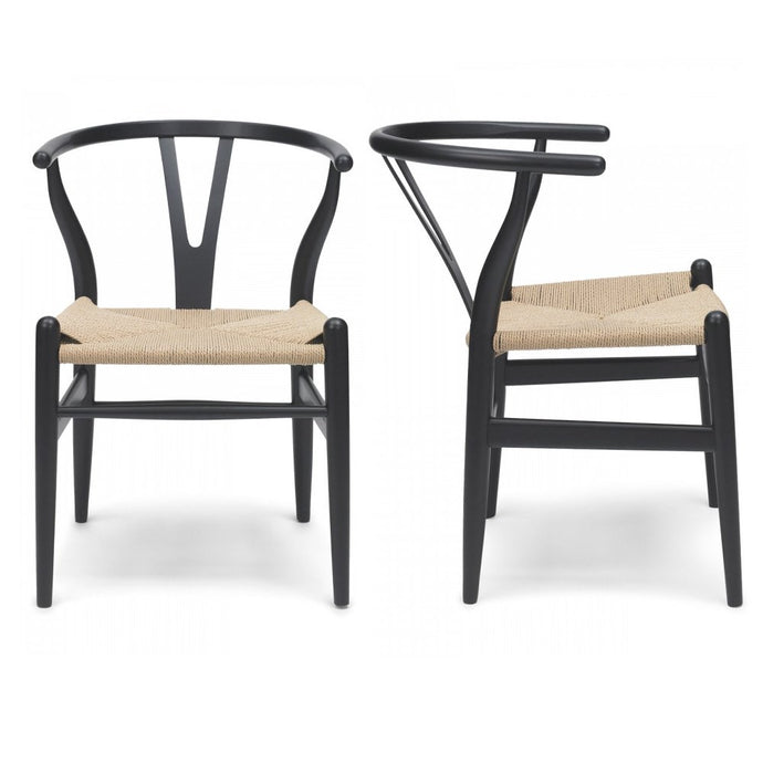 Hans Wegner, Wishbone chair/ Dark - MANU Wooden Collection