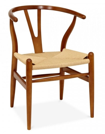 Hans Wegner Wishbone chair/ Light brown wood - MANU Wooden Collection