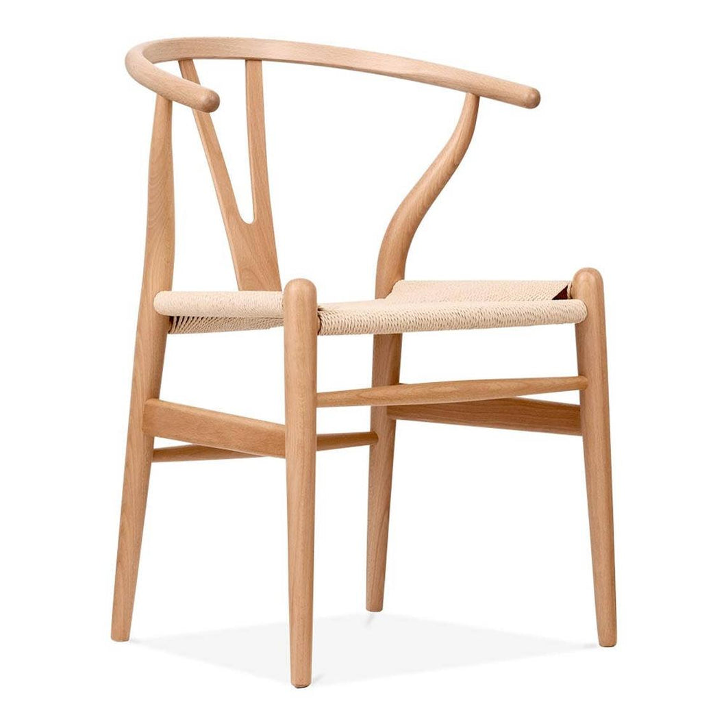 Hans Wegner, Wishbone chair. Natural - MANU Wooden Collection