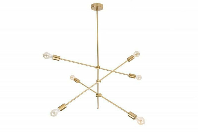 Vertigo chandelier - MANU Wooden Collection