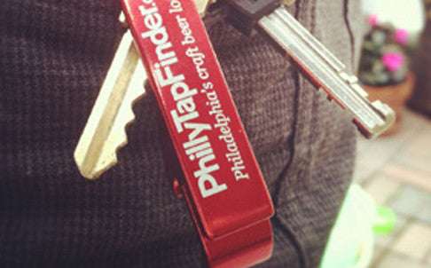 PhillyTapFinder Keychain Bottle Opener