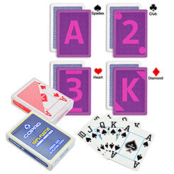 Copag 4 Corner marked poker cards with special marks