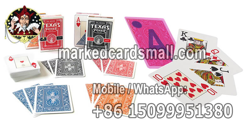 Dal Negro Texas Holdem infrared marked cards poker