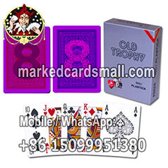modiano old trophy cheating marked cards