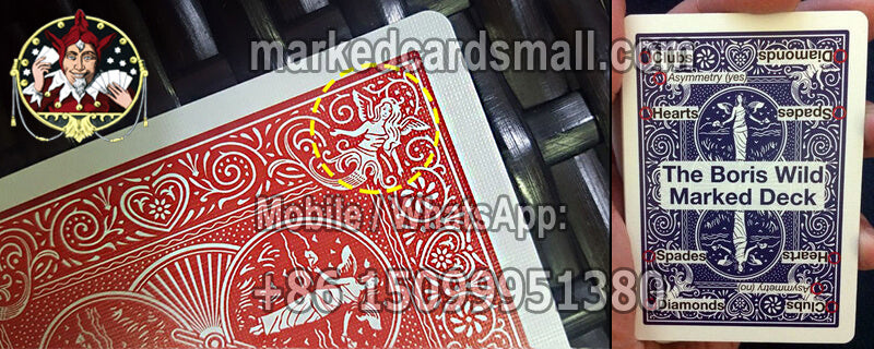Bicycle Maiden Back Marked Cards Code System