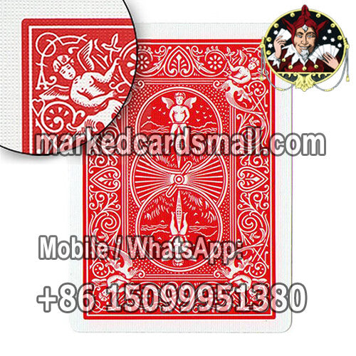 red bicycle ultimate marked deck