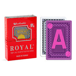 Royal Marked Deck of Cards for contact lenses and poker analyzer
