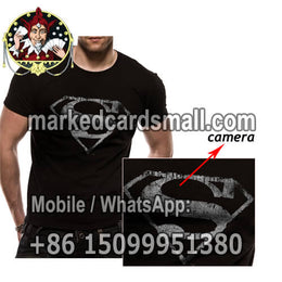 T-shirt clothes gambling cheating devices