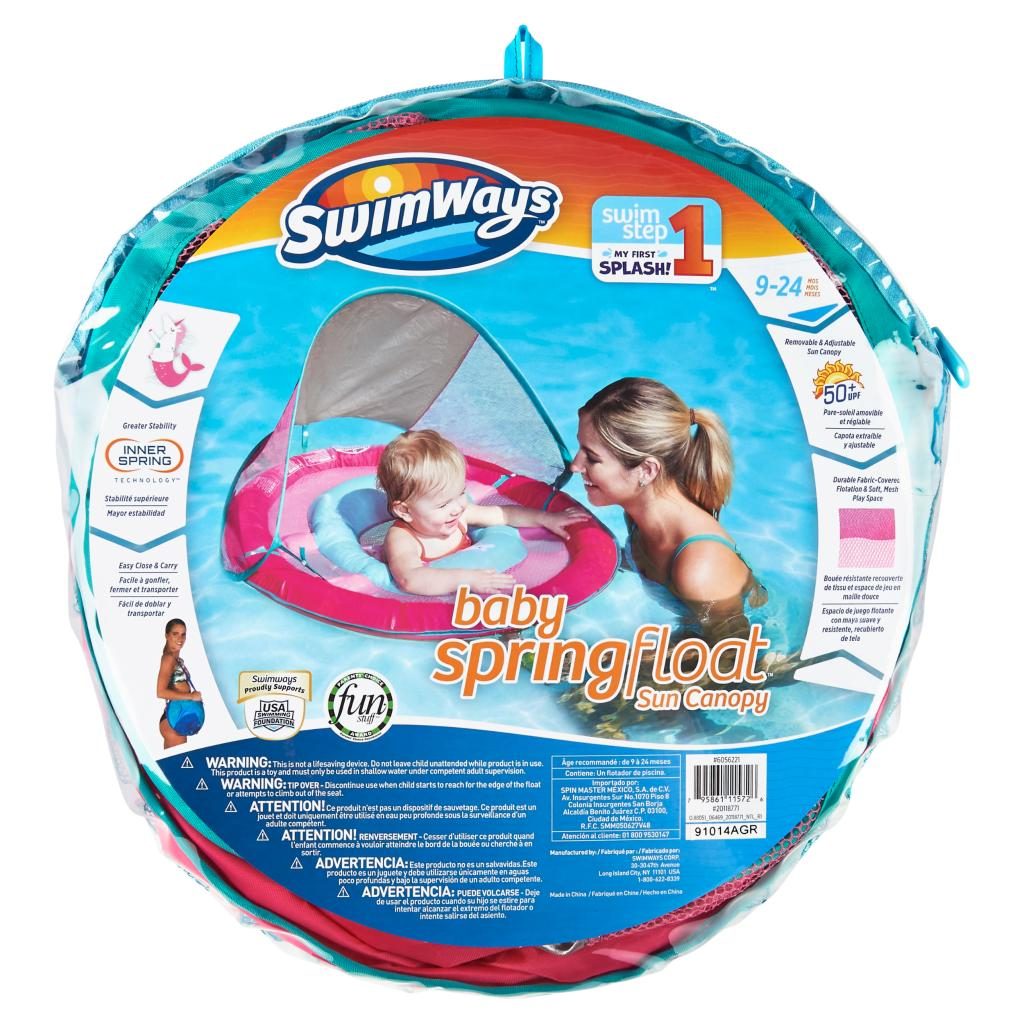 SwimWays Baby Spring Float Sun Canopy - Assorted