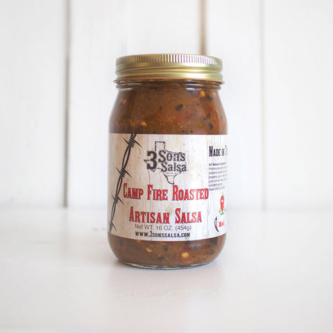Camp Fire Roasted Salsa