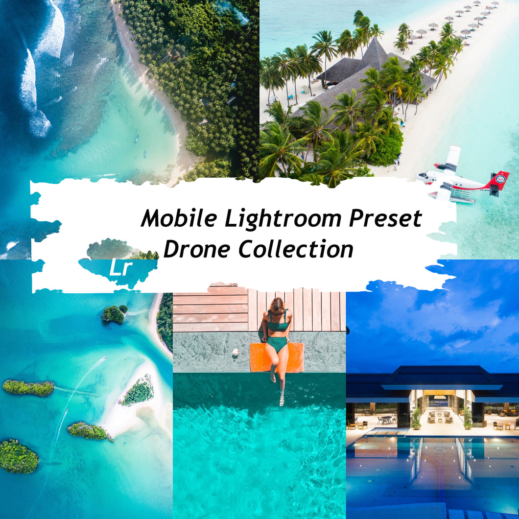 Drone Collection Lightroom Presets
