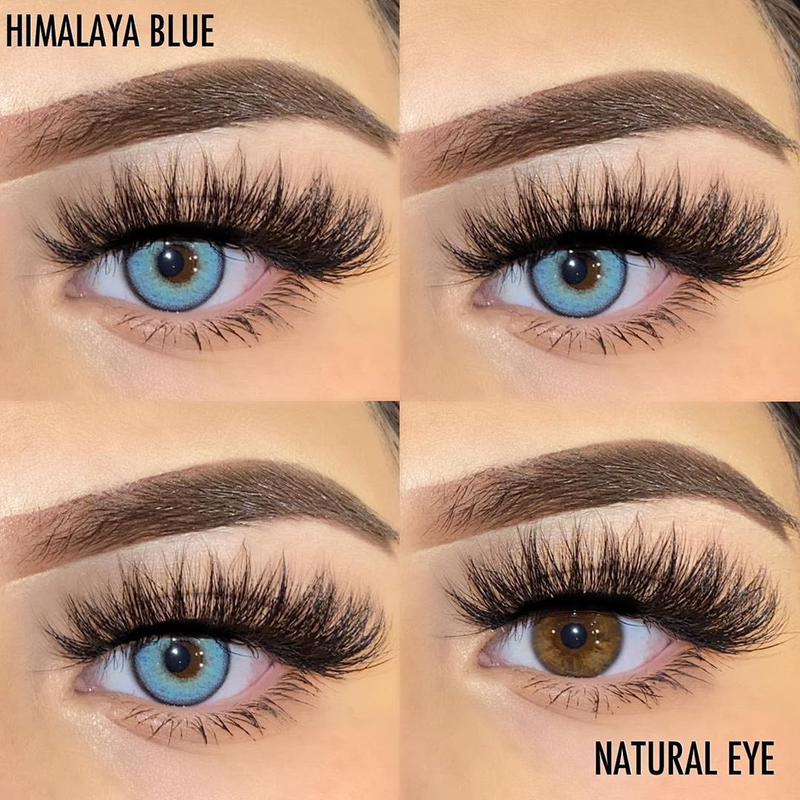 Himalaya Series Colored Contact Lenses Yearly
