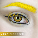 Vika Tricolor Yellow Colored Contact Lenses
