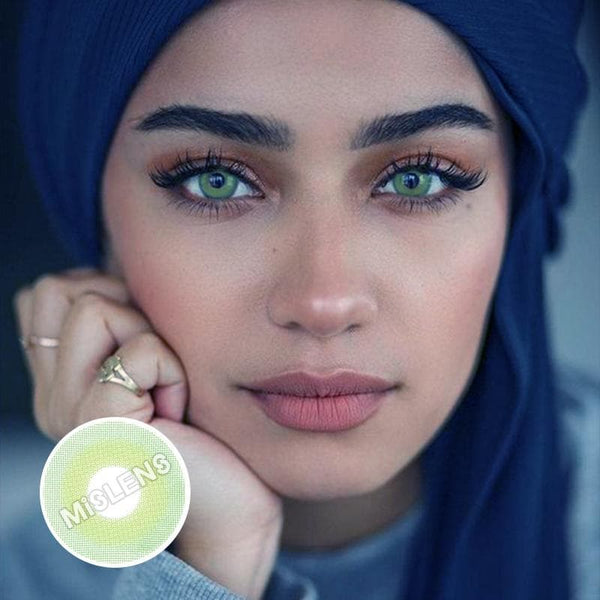 Pixie Green Colored Contact Lenses