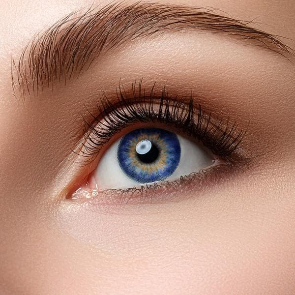 Ocean Blue Colored Contact Lenses