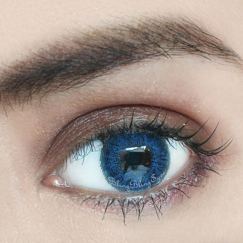 Brilliant Blue Colored Contact Lenses