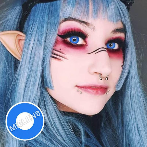 Blue Block Cosplay Colored Contact Lenses