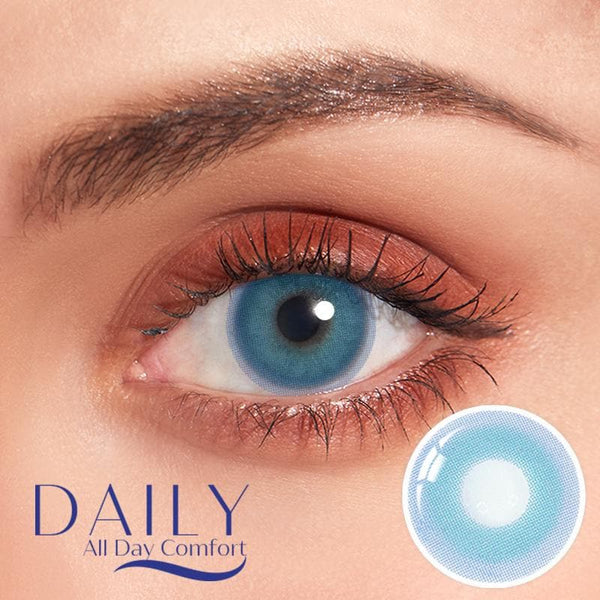 Pixie blue Contatc Lenses(Quarterly/Monthly/Daily)