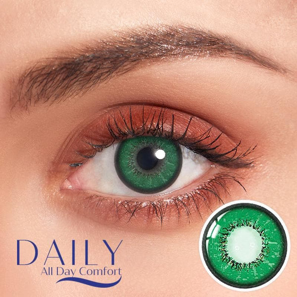 Love Word Green  Contatc Lenses(Quarterly/Monthly/Daily)