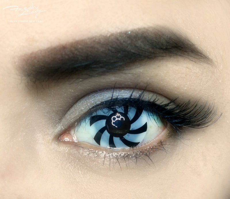 Optical Illusion Halloween Contact Lenses