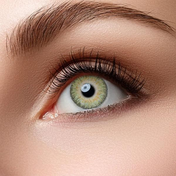 3-stones Green Colored Contact Lenses