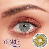 New York Gogh Gray  Colored Contact Lenses sph