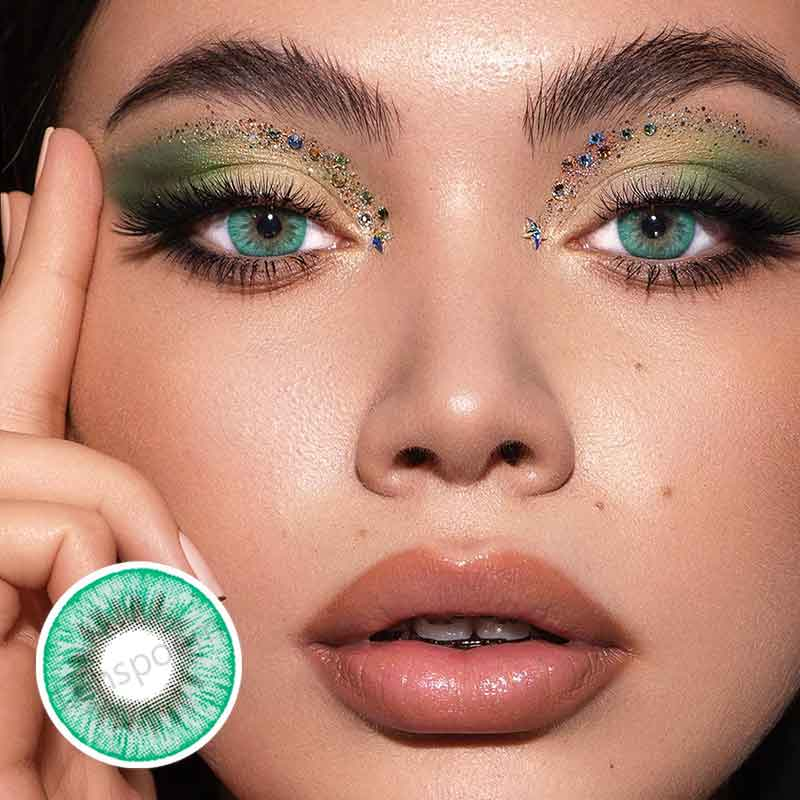 Glacier Green  Colored Contact Lenses